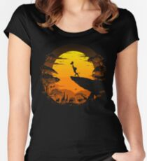 The Circle of Life Women's Fitted Scoop T-Shirt