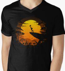 The Circle of Life Men's V-Neck T-Shirt
