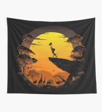 The Circle of Life Wall Tapestry