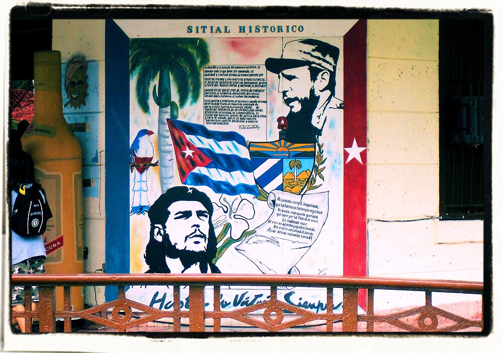 Che and the Wall by Photoflirt