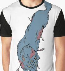 Injured Wolf  Graphic T-Shirt