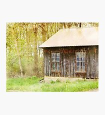 New metal roof Photographic Print
