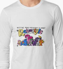 My Little Pony: Friendship is Magic-The Retrostyle Series Long Sleeve T-Shirt