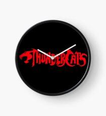 Thundercats Text Logo Clock