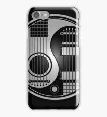 Guitar Yin Yang in Steel iPhone Case/Skin