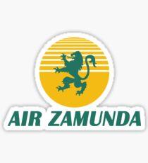 AIR ZAMUNDA - COMMING TO AMERICA (V1) Sticker