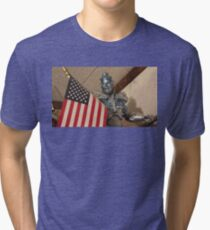 mr freeze Tri-blend T-Shirt