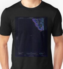 USGS TOPO Map Iowa IA Wapello 175689 1949 62500 Inverted Unisex T-Shirt