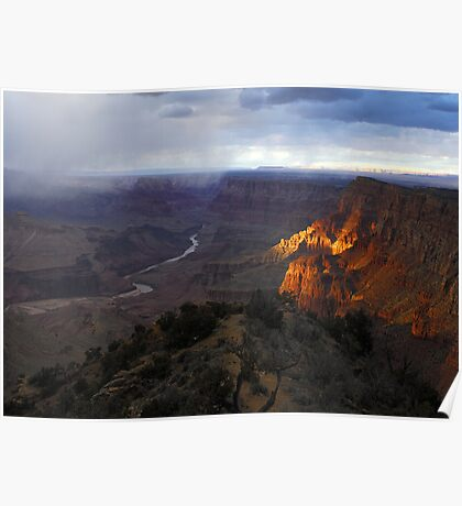 Desert View - Grand Canyon National Park Poster