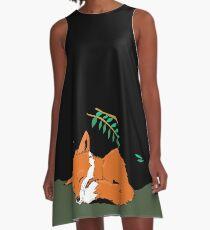 Fox Nap A-Line Dress
