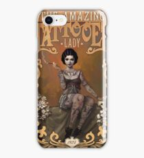 The Amazing Tattooed Lady iPhone Case/Skin