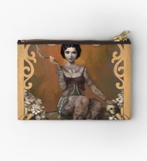 The Amazing Tattooed Lady Studio Pouch