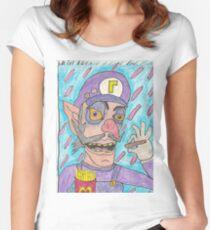 WALUIGI Women's Fitted Scoop T-Shirt