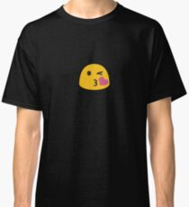 Kiss Face Emoji Emoticon Classic T-Shirt