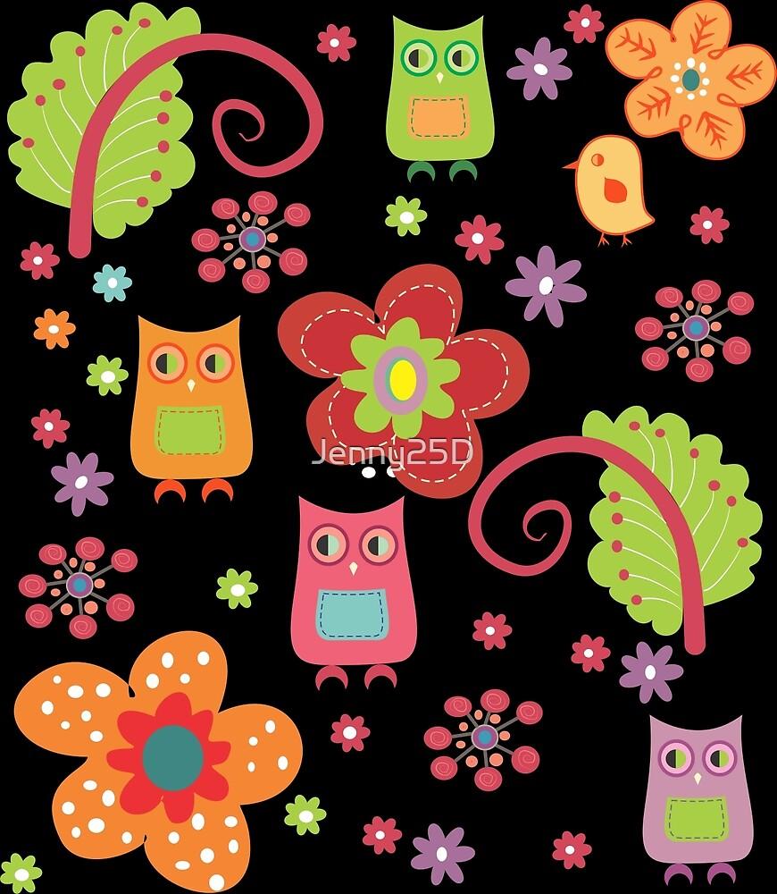 Owls by Jenny25D