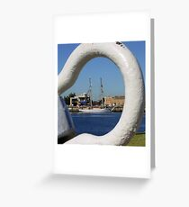 Shackled. Greeting Card