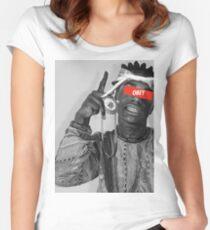 Kodak Black Women's Fitted Scoop T-Shirt