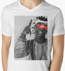 Kodak Black Men's V-Neck T-Shirt