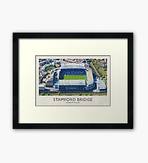 Vintage Football Grounds - Stamford Bridge (Chelsea FC) Framed Print