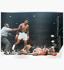 Muhammad Ali vs Sonny Liston Poster