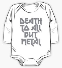 Death to All But Metal One Piece - Long Sleeve