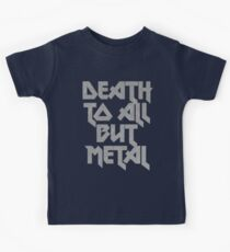 Death to All But Metal Kids Clothes