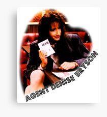 Twin Peaks FBI agent Denise Bryson Canvas Print