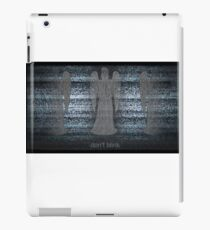 Weeping Angels and Static iPad Case/Skin