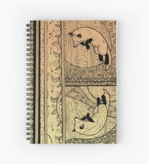 Leaping Fox Spiral Notebook
