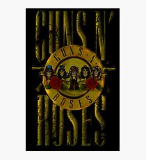 GUNs N Roses Photographic Print