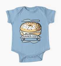 Bagel Life - Everything Bagels are Everything to Me One Piece - Short Sleeve
