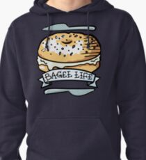 Bagel Life - Everything Bagels are Everything to Me Pullover Hoodie