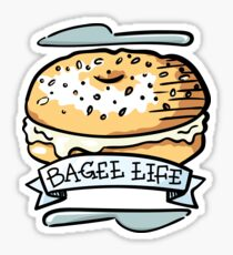 Bagel Life - Everything Bagels are Everything to Me Sticker