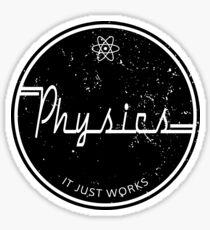 Physics Works Sticker