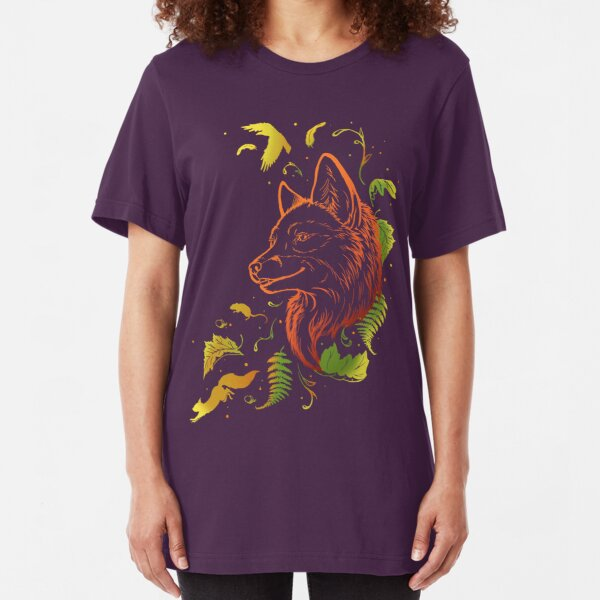 Autumn Song (rearanged) Slim Fit T-Shirt