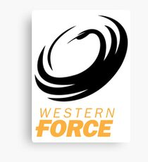the western force Canvas Print