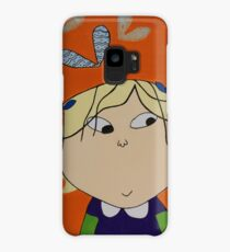 Lola with Butterfly Kisses Case/Skin for Samsung Galaxy