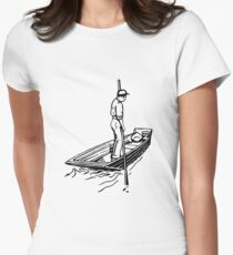Punt Womens Fitted T-Shirt