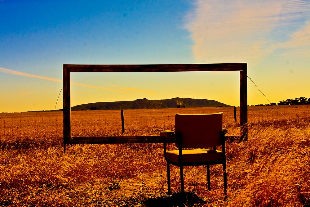 Looking out on Mt Arapiles by Jacob Simkin