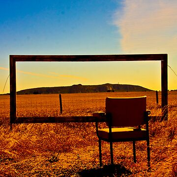 Looking out on Mt Arapiles by Jake
