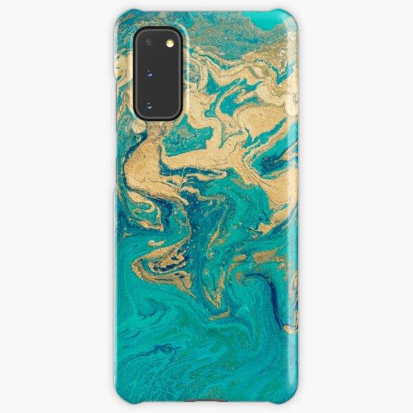 Golden Jade Fluid Painting Samsung Galaxy Snap Case