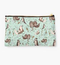 Sea Otters Studio Pouch
