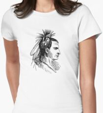 Native American Womens Fitted T-Shirt