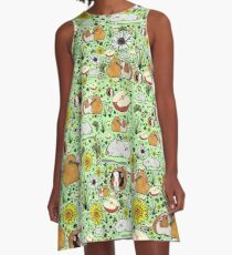 Guinea Pigs A-Line Dress