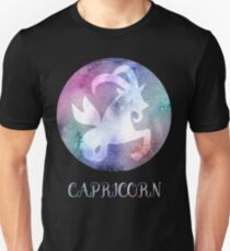 Watercolor Zodiac Capricorn Sign Unisex T-Shirt