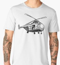 Helicopter Men's Premium T-Shirt