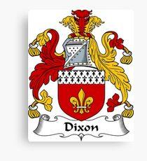 Dixon  Canvas Print
