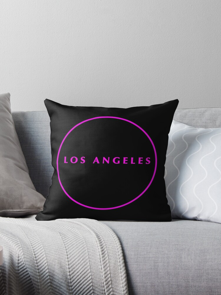 Los Angeles Hot Pink on Black by natprice06