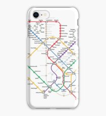 Singapore Rail Map iPhone Case/Skin