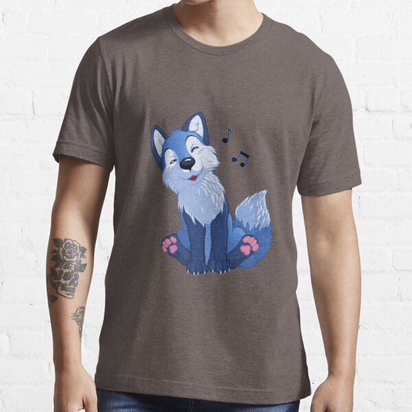 Blue singing, swinging foxy Essential T-Shirt